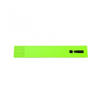 Bookmark '!' Neon Green