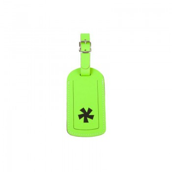 Luggage Tag '*' Neon Green