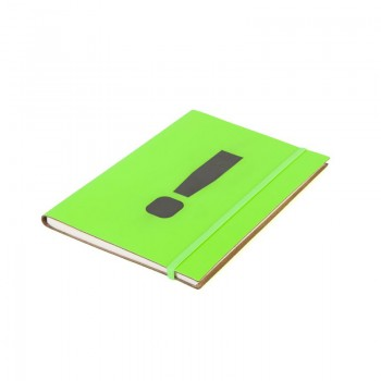 A5 Notebook '!' Neon Green