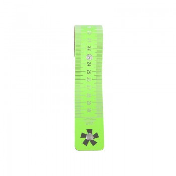 Roll-Out Ruler '*' Neon Green