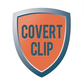 Covert clip - security products